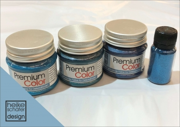 Premium Color Set Türkis-Petrol, 4-teilg