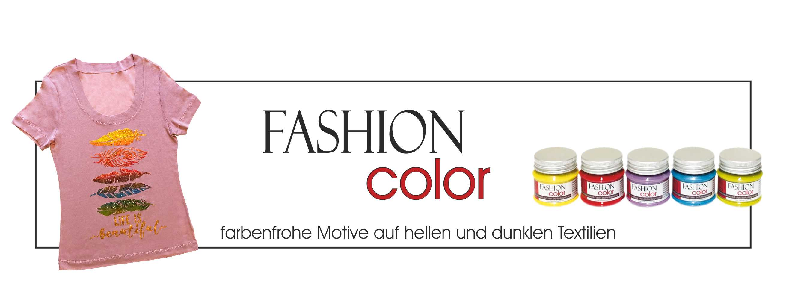 Textilfarbe - Fashion Color