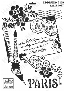 Schablone-Stencil A3 451-5139 Paris Post