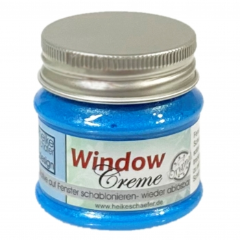 Window Creme in Pearl Blau - 50g