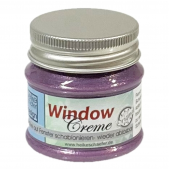 Window Creme in Pearl Weinrot - 50g