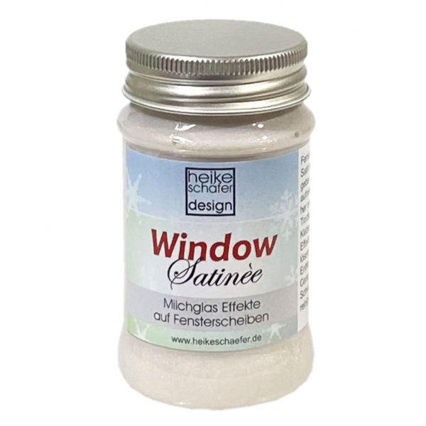 Window Creme Satinee in Pearl Weiss - 90g